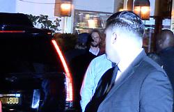 Brad Pitt arriving at jennifer aniston's 50's birthday. 09 Feb 2019 Pictured: Brad Pitt. Photo credit: MEGA TheMegaAgency.com +1 888 505 6342