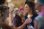 Bella Howard 30th birthday, Castle Howard, Dress code: Flower Fairies and Prince Charming, 3 September 2016