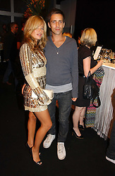 JADE JAGGER and DAN WILLIAMS at a party hosted by retail property group Westfield at the Natural History Museum, Cromwell Road, London SW7 on 17th September 2006.<br /><br />NON EXCLUSIVE - WORLD RIGHTS