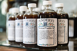 Pendery's World of Chiles & Spices retail store, Fort Worth, Texas USA.