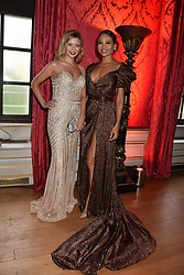 Rachel Riley and Viscountess Weymouth at the Tusk Ball at Kensington Palace, London, England. 09 May 2019.