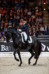 Schneider, Dorothee (GER) Sammy Davis jr<br /> Stuttgart - German Masters 2017<br /> © www.sportfotos-lafrentz.de/Stefan Lafrentz