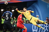Hugo Lloris of France during the 2018 FIFA World Cup Russia, Semi Final football match between France and Belgium on July 10, 2018 at Saint Petersburg Stadium in Saint Petersburg, Russia - Photo Thiago Bernardes / FramePhoto / ProSportsImages / DPPI