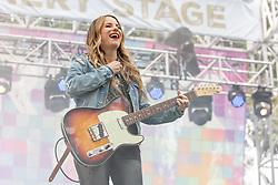 May 25, 2018 - Napa, California, U.S - CAITLYN SMITH during BottleRock Music Festival at Napa Valley Expo in Napa, California (Credit Image: © Daniel DeSlover via ZUMA Wire)