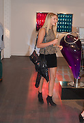 JESSICA LEACH, Vogue's Fashion night out special opening of the Halcyon Gallery.  New Bond St. London. 6 December 2012.