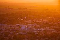 Aerial photograph of Brawley California