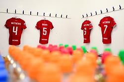 General views of the changing rooms prior to kick off - Mandatory by-line: Ryan Hiscott/JMP - 08/12/2019 - FOOTBALL - Stoke Gifford Stadium - Bristol, England - Bristol City Women v Birmingham City Women - Barclays FA Women's Super League