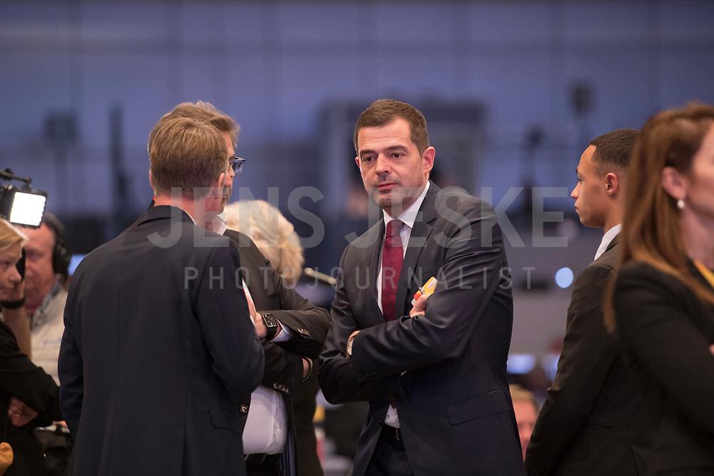 DEU, Deutschland, Germany, Leipzig, 22.11.2019: Mike Mohring, CDU-Landeschef in Thüringen, beim Bundesparteitag der CDU in der Messe Leipzig.