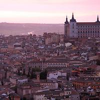 Europe, Spain, Toledo. View of the UNESCO World Heritage city of Toledo from the Parador de Toledo Hotel.