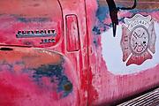 Fire truck,  Ridgeway, Colorado