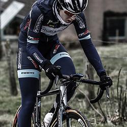Sportfoto archief 2013<br /> Omloop Het Nieuwsblad vrouwen Laura van der Kamp
