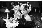 Gertrude Swope and Laura Johnson at the Metropolita, 'Age of Napolea', Le Ball Blanc. Plaza. 19 Jan 1990© Copyright Photograph by Dafydd Jones 66 Stockwell Park Rd. London SW9 0DA Tel 020 7733 0108 www.dafjones.com