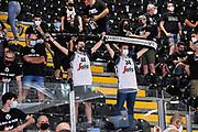 Tifosi Segafredo Virtus Bologna<br /> Segafredo Virtus Bologna - A|X Armani Exchange Olimpia Milano<br /> Finale Playoff Scudetto Gara4<br /> LBA Legabasket Serie A UnipolSai 2020-2021<br /> Bologna, 11/06/2021<br /> Foto L.Canu / Ciamillo-Castoria