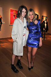 Left to right, COCO SUMNER and JAZZY DE LISSER at fundraising dinner and auction in aid of Liver Good Life a charity for people with Hepatitis held at Christies, King Street, London on 16th September 2009.