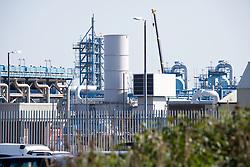 Easington Gas Terminal; East Yorkshire; England