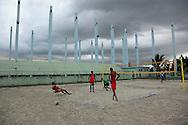 Volleyball in Ciego de Avila, Cuba.