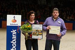 Peters J fokker van Vince Da Luca<br /> KWPN Hengstenkeuring - 's Hertogenbosch 2012<br /> © Dirk Caremans