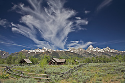 """Church of the Transfiguration in Grand Teton National Park.<br /> <br /> For production prints or stock photos click the Purchase Print/License Photo Button in upper Right; for Fine Art """"Custom Prints"""" contact Daryl - 208-709-3250 or dh@greater-yellowstone.com"""