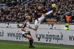 November 26, 2017 - Milan, Italy - Ricardo Rodriguez of AC Milan during Italian serie A match AC Milan vs Torino FC at San Siro Stadium  (Credit Image: © Gaetano Piazzolla/Pacific Press via ZUMA Wire)