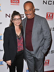 (L-R) Laura San Giacomo and Rocky Carroll at the TV Guide Magazine and CBS Celebrate Mark Harmon Cover & 15 Seasons Of NCIS held at the River Rock at Sportsmen's Lodge in Studio City, CA on Monday, November 6, 2017. (Photo By Sthanlee B. Mirador/Sipa USA)