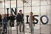 David Shrigley; Adam Dant, Stephen Friedman Gallery , opening of the 2010 Frieze art fair. Regent's Park. London. 13 October 2010. -DO NOT ARCHIVE-© Copyright Photograph by Dafydd Jones. 248 Clapham Rd. London SW9 0PZ. Tel 0207 820 0771. www.dafjones.com.