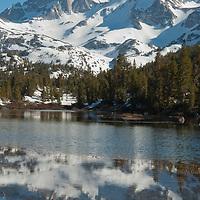 Little Lakes Valley in Rock Creek Canyon, Sierra Nevada, California.