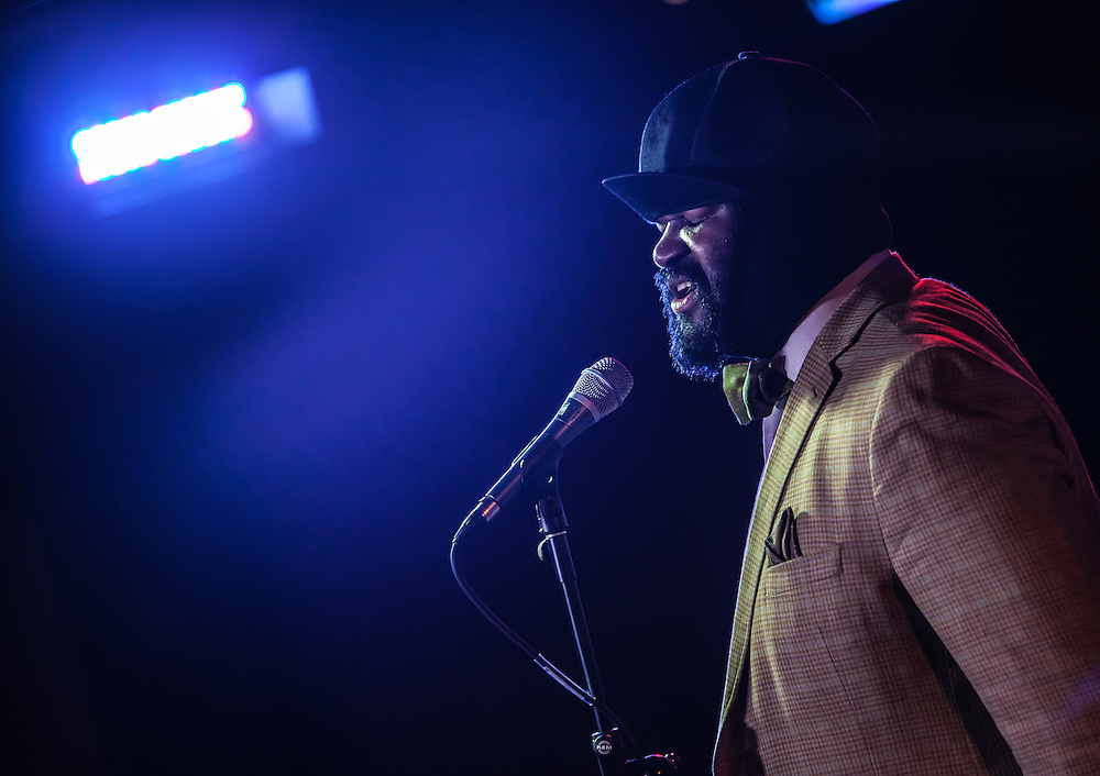 6/10/2013 New York, NY - Jazz vocalist Gregory Porter performs at SubCulture.