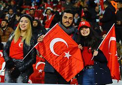 November 17, 2018 - Konya, Türkiye - Turkish supporters Turkey vs. Sweden UEFA Nations League, League B game at Konya, Turkey, 17th Nov., 2018 (Credit Image: © Mahmut Burak Burkuk/Depo Photos via ZUMA Wire)