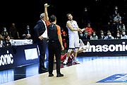 Mancinelli Stefano<br /> Lavoropiu Fortitudo Bologna - Openjobmetis Varese<br /> LBA lega basket UnipolSai serie A - 2020/2021<br /> Bologna, 04/10/2020<br /> Foto Stefano Ponticelli / Ciamillo-Castoria