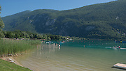 Aiguebelette, FRANCE.  General View,  finishing line. the finishing line, repechage, approaching the line. 11:09:17  Saturday  21/06/2014. [Mandatory Credit; Peter Spurrier/Intersport-images]