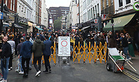 Soho London on Super Saturday after the Covid-19 lockdown rules have been relaxed  By Prime Minister Boris Johnson Photo by Roger Alarcon