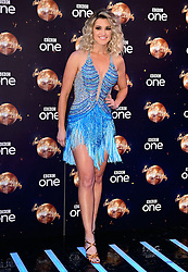 Ashley Roberts at the launch of Strictly Come Dancing 2018 held at The Broadcasting House, London.
