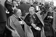 21/06/1961.06/21/1961.21 June 1961.Patrician Year celebrations: Cardinal Legate Grégoire-Pierre Agagianian at garden party in Blackrock, Co. Dublin.