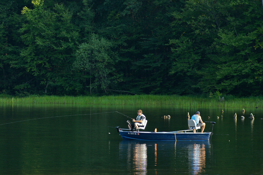 Locust Lake, Locust Lake State Park, Schuylkill Co., PA