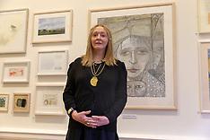 First Woman President of the Royal Scottish Academy , Edinburgh, 6 December 2018