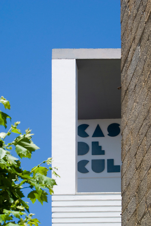 Casa de la Cultura. Don Benito. Rafael Moneo Architect