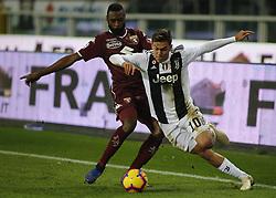 December 15, 2018 - Turin, Italy - Paulo Dybala during Serie A match between Torino v Juventus, in Turin, on December 15, 2016  (Credit Image: © Loris Roselli/NurPhoto via ZUMA Press)