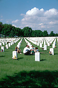 Fort Snelling military cemetery; dad and children age 37, 10-6.  Minneapolis Minnesota USA