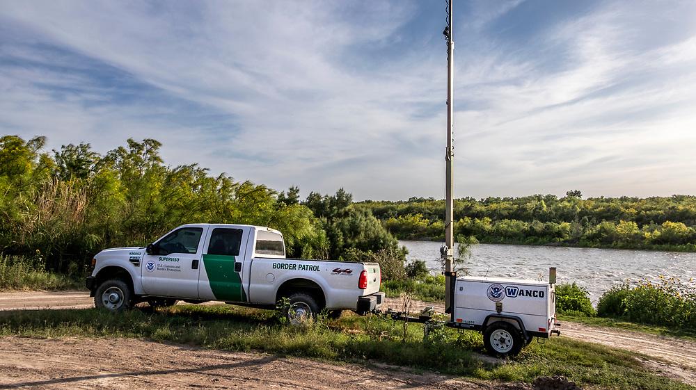 Rio Grande Border patrol <br /> Zapata Country, Texas, USA