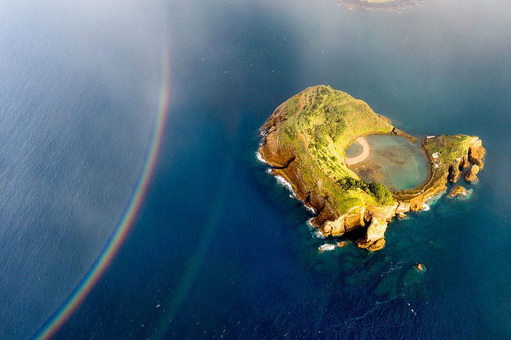 Islet of Vila Franca do Campo at Sao Miguel Island, Azores