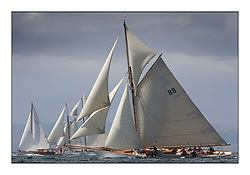 Moonbeam III 1903 Gaff Cutter...* The Fife Yachts are one of the world's most prestigious group of Classic  yachts and this will be the third private regatta following the success of the 98,  and 03 events.  ..Marc Turner / PFM Pictures