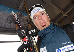 Peter Dokl of Slovenian Men Biathlon Team at Dachstein glacier before new season 2008/2009, Austria, on October 30, 2008.  (Photo by Vid Ponikvar / Sportida)