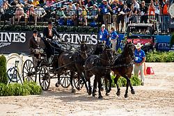 Chardon IJsbrand, NED, Baldun, Balero, Eddy, Senator<br /> World Equestrian Games - Tryon 2018<br /> © Hippo Foto - Dirk Caremans<br /> 23/09/2018