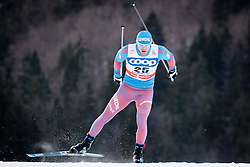 Gafarov Anton (RUS) during Man 1.2 km Free Sprint Qualification race at FIS Cross<br /> Country World Cup Planica 2016, on January 16, 2016 at Planica,Slovenia. Photo by Ziga Zupan / Sportida