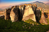 The Meteora Mountains, Greece ..<br /> <br /> Visit our GREEK HISTORIC PLACES PHOTO COLLECTIONS for more photos to download or buy as wall art prints https://funkystock.photoshelter.com/gallery-collection/Pictures-Images-of-Greece-Photos-of-Greek-Historic-Landmark-Sites/C0000w6e8OkknEb8 <br /> .<br /> Visit our MEDIEVAL PHOTO COLLECTIONS for more   photos  to download or buy as prints https://funkystock.photoshelter.com/gallery-collection/Medieval-Middle-Ages-Historic-Places-Arcaeological-Sites-Pictures-Images-of/C0000B5ZA54_WD0s