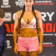 NLD/Amsterdam20160624 - Glory 31 / Weigh in, Isis Verbeek