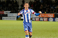Wigan Athletic defender Stephen Warnock (23) during the EFL Sky Bet Championship match between Burton Albion and Wigan Athletic at the Pirelli Stadium, Burton upon Trent, England on 14 January 2017. Photo by Richard Holmes.