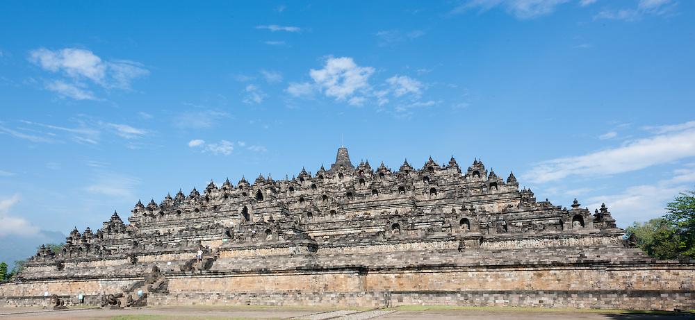 Borobudur Temple in Java (Indonesia)