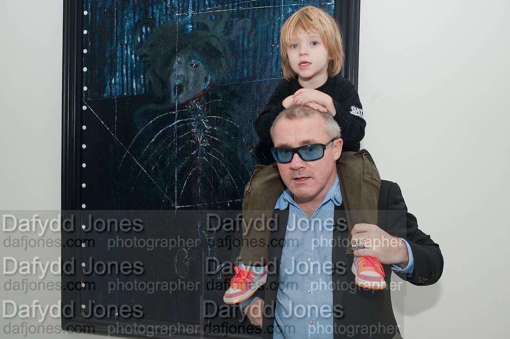DAMIEN HIRST, Nothing Matters. Damien Hirst exhibition. White Cube. Mason's Yard. London. 24 November 2009