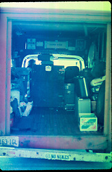 Jerry Garcia Band. Van near Stage Door at the Capitol Theater Passaic, NJ - 17 March 1978 > you might say, a van down by the river ...